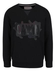 Čierna pánska mikina s potlačou Calvin Klein Jeans Heams