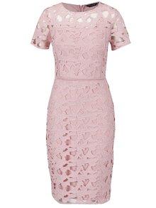 Rochie roz Dorothy Perkins din dantelă spartă