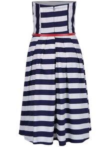 Modro-bílé pruhované šaty Dolly & Dotty Lana