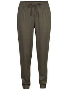 Pantaloni Kaki TALLY WEiJL cu talie elastică
