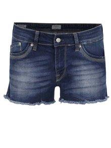 Pantaloni scurți albaștri din denim Pepe Jeans Twigs