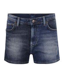 Modré dámske rifľové kraťasy Pepe Jeans Patchy