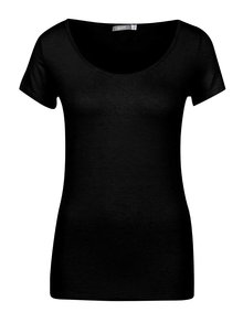 Černé basic tričko s kulatým výstřihem ZOOT