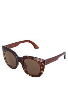 Hnedé vzorované okuliare Jeepers Peepers