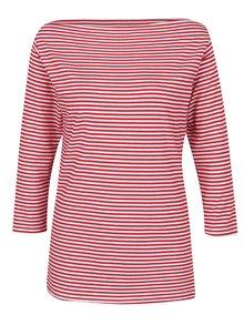 Bluză alb & roșu ZOOT cu dungi