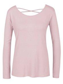 Bluză roz prăfuit ZOOT cu șiret încrucișat la spate