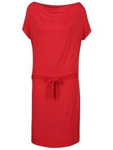 Rochie roșie ZOOT cu cordon în talie