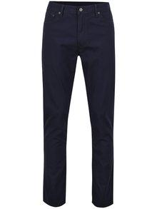 Tmavomodré slim pánske nohavice s prímesou ľanu Levi's® 511™