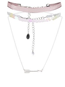 Choker roz TALLY WEiJL Arrow
