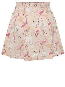 Růžová holčičí sukně s plameňáky name it Viggakira