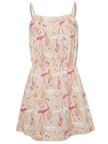 Rochie roz name it Viggakira cu flamingo