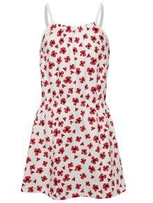 Biele dievčenské kvetované šaty name it Viggakira