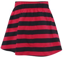 Modro-růžová holčičí pruhovaná sukně name it Viggakira