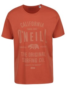 Tricou portocaliu O'Neill cu imprimeu