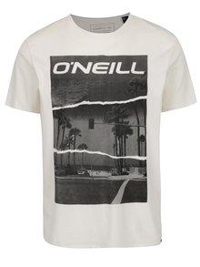 Krémové pánské triko s krátkým rukávem O'Neill Cali
