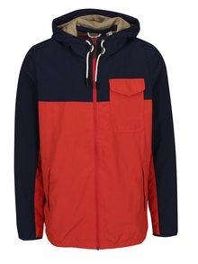 Jachetă bleumarin & roșu O'Neill cu glugă