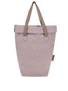 Geantă roz deschis UASHMAMA® Carry Two