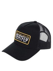 Șapcă negru & galben MEATFLY Garage cu broderie pentru bărbați