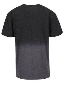 Tricou gri in degrade MEATFLY Spill pentru barbati