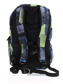 Modro-šedý unisex batoh Meatfly Basejumper 20 l