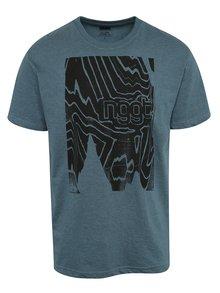Tricou albastru cu print NUGGET Anomaly pentru bărbați