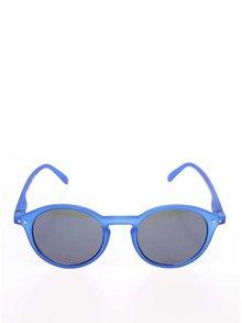 Modré unisex sluneční brýle se zrcadlovými modrými skly IZIPIZI #D