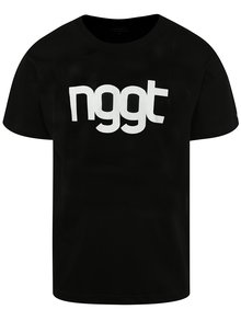 Černé pánské triko s potiskem NUGGET Extend