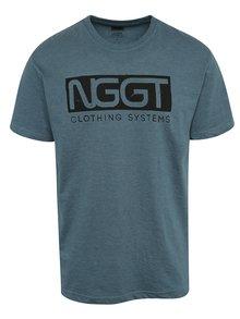 Modré pánské triko s potiskem NUGGET Class