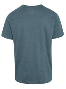 Tricou albastru cu print NUGGET Class pentru barbati