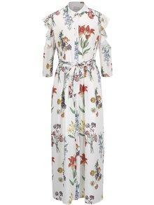 Rochie maxi albă Selected Femme Dixie cu imprimeu floral
