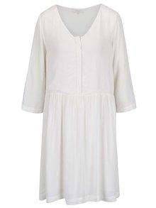 Biele šaty s dlhým rukávom Selected Femme Kary