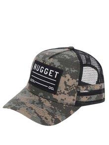 Șapcă verde cu model camuflaj NUGGET Slope pentru bărbați