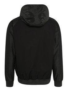 Šedo-černá pánská lehká bunda s potiskem NUGGET Deploy