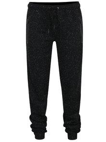 Pantaloni sport negru melanj NUGGET Comfy pentru femei
