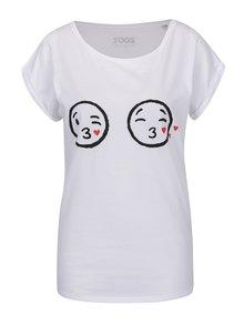 Tricou alb cu imprimeu ZOOT Original de damă