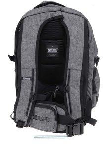 Čierno-sivý unisex batoh s logom NUGGET Arbiter 30 l