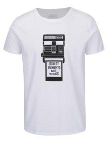 Biele pánske tričko s krátkym rukávom ZOOT Originál Foťák