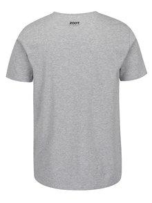 Sivé pánske triko s krátkym rukávom ZOOT Originál Sekyry