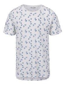 Bílé triko s potiskem ONLY & SONS Simon