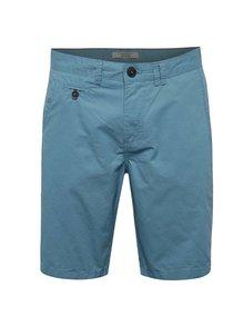 Pantaloni scurți chino bleu Blend din bumbac