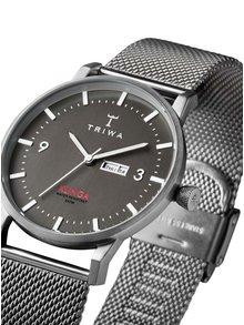 Unisex hodinky ve stříbrné barvě TRIWA Dusk Klinga