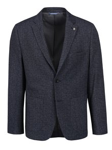 Sacou bleumarin Burton Menswear London