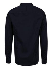 Tmavomodrá formálna slim fit košeľa Selected Homme Done