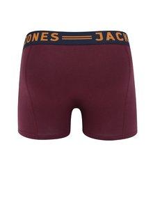 Vínové boxerky Jack & Jones Sense