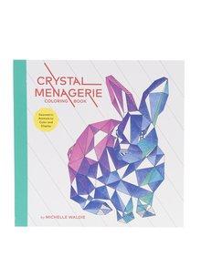 Kniha omalovánek s geometrickými zvířaty Chronicle