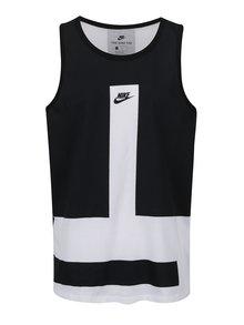 Čierno-biele pánske tielko Nike Modern