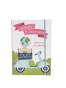Krémový cestovní deník Galison