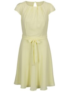 Žlté šaty so zaväzovaním v páse Billie & Blossom