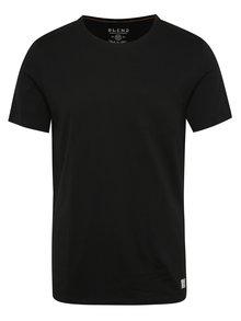 Tricou negru Blend din bumbac