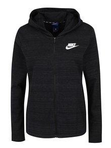 Čierna dámska mikina s kapucňou Nike